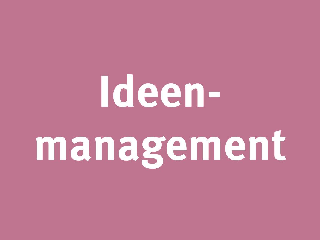 Link zum Ideenmanagement