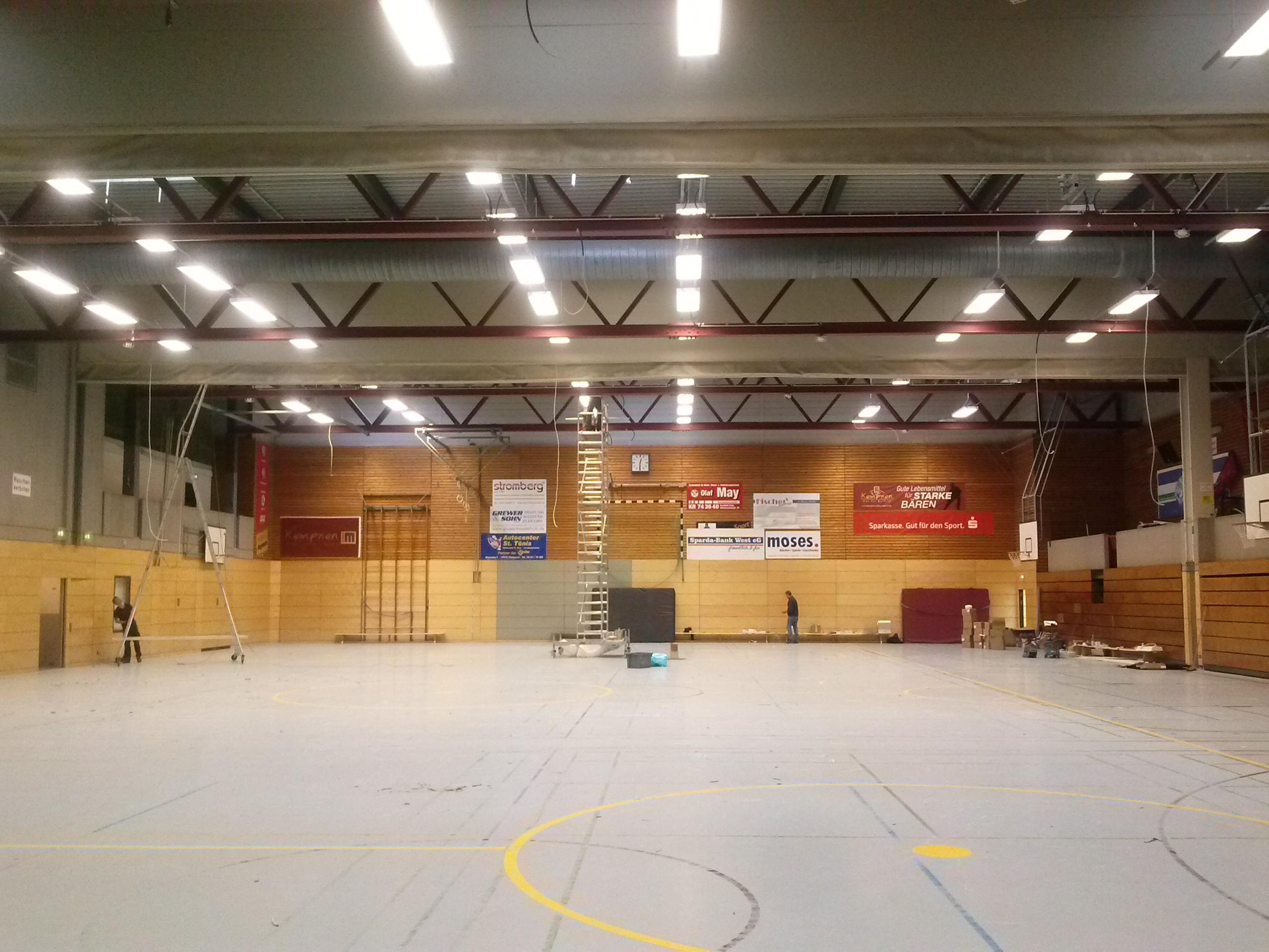 Sanierung der Beleuchtung in Sporthallen der Stadt Krefeld | Stadt ...