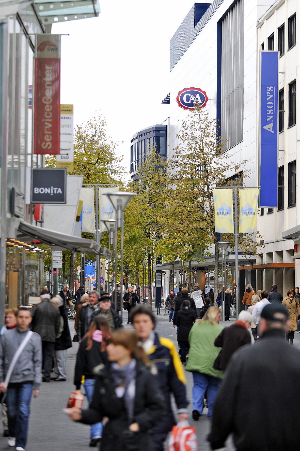 Verkaufsoffene Sonntage Stadt Krefeld