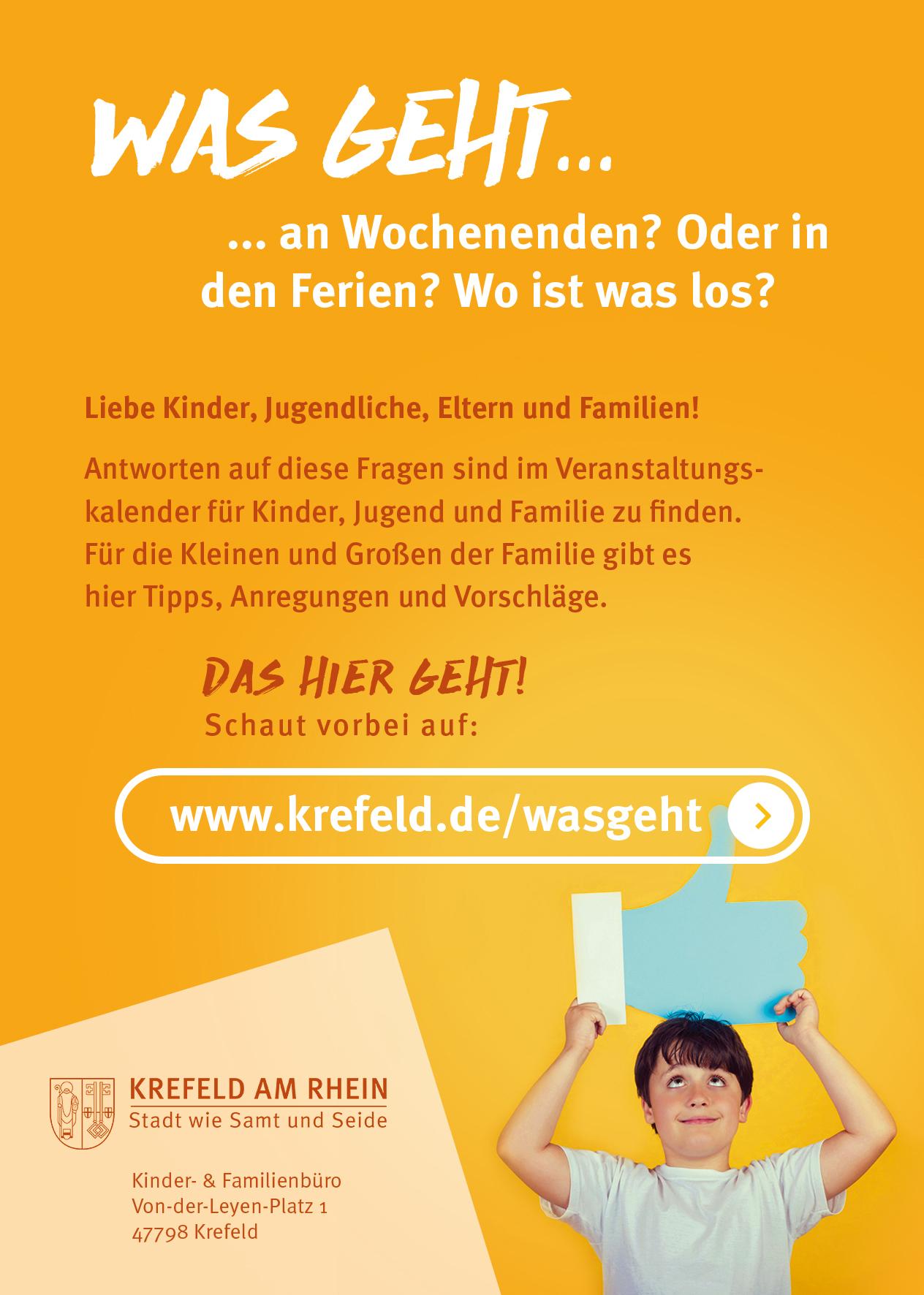 Veranstaltungskalender für Kinder, Jugend & Familie | Familienportal ...