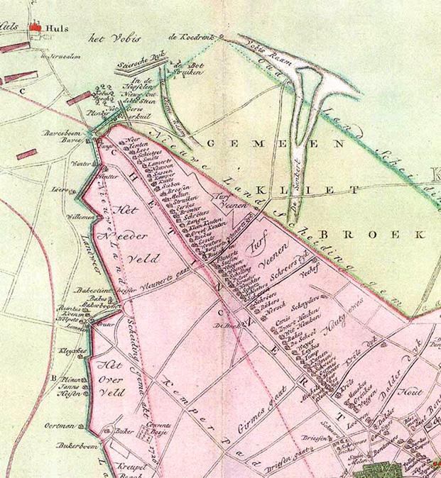 Krefeld Karte.Engelbronner Karte Stadt Krefeld